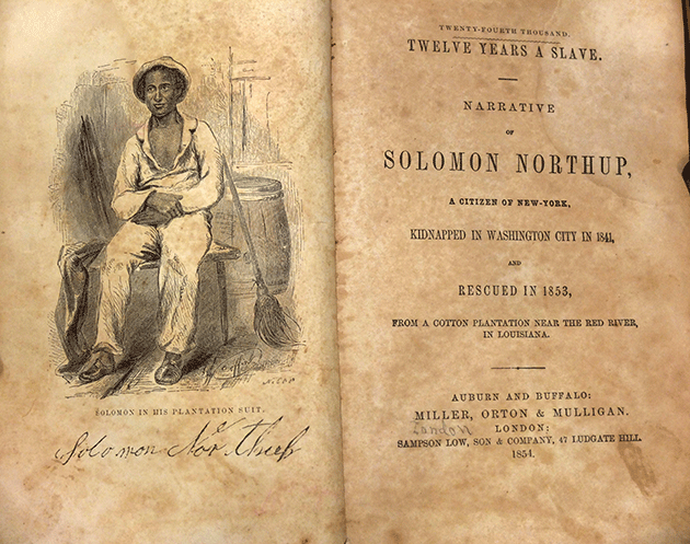 the theme of slavery in twelve years a slave by solomon northup Which concentrates sharply on themes of of 12 years a slave, curiosity about slavery in the free and as twelve years a slave: solomon northup's.